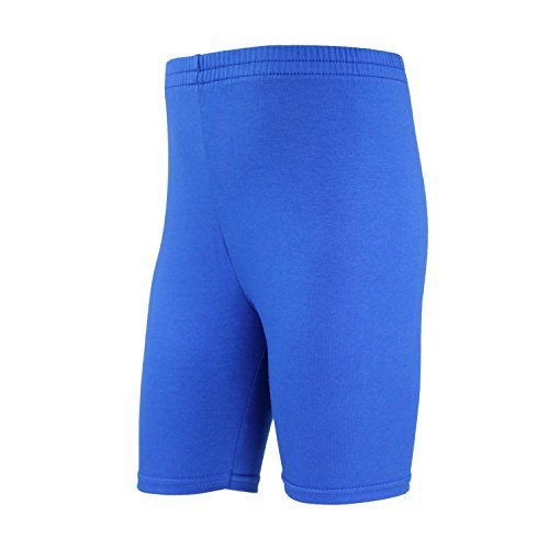 TupTam Mädchen Leggings Kurz Radlerhose Baumwolle, Farbe: Kornblumenblau, Größe: 146