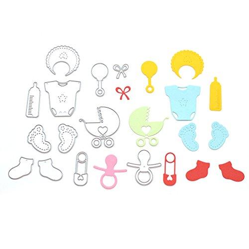 Lychee 1 Set DIY Fustelle Strumento Cutting Dies Baby Toy