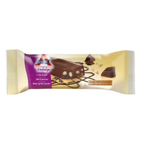 Endulge Schokolade (Atkins - Endulge Bar Crispy Milk Chocolate 30g)