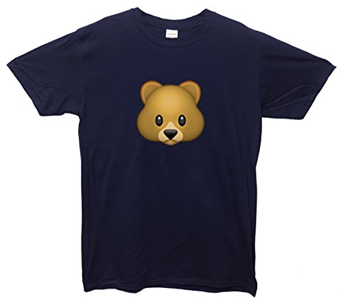 Bear Emoji T-Shirt Navy