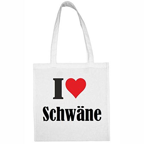 taschei-love-schwanegrosse38x42farbeweissdruckschwarz