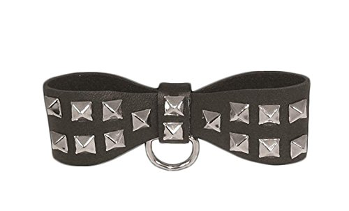 Sex & Mischief S&M Studded Bow Tie Collar, 1er Pack Studded Bow Tie