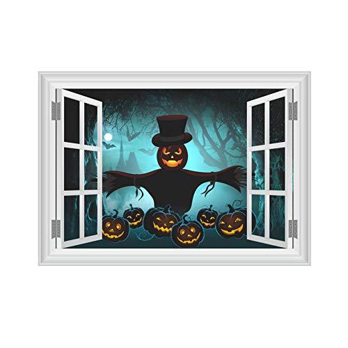 Yisily Etiqueta Halloween Pared patrón