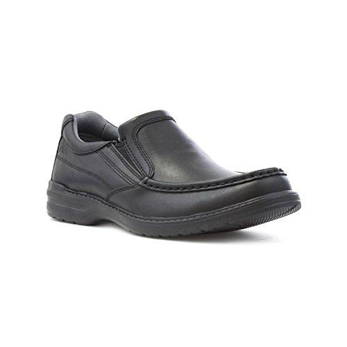 Clarks Détente Habillé Homme Chaussures Keeler Step en Cuir Noir