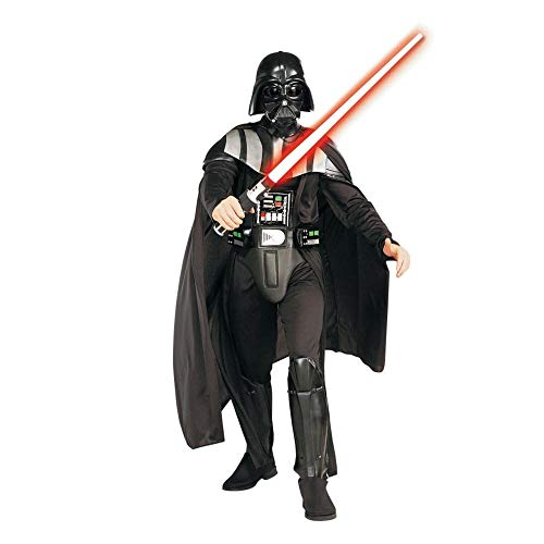 Generique - Darth Vader-Kostüm für Herren (Star Wars Darth Vader Deluxe Kostüm Herren)
