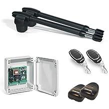 Kit Completo Automatismo Motor Motorline para Puertas Batientes de 2 Hojas – Lince 400-230V