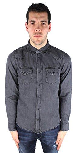 Camicia jeans uomo diesel modello new sonora
