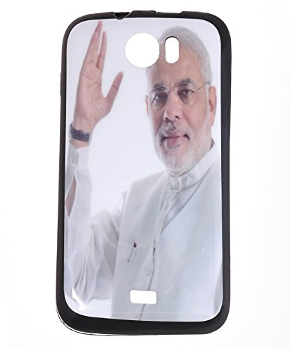 iCandy Matte Finish Soft Rubber Printed Back Cover for Micromax Canvas 2 A110 - W Modi  available at amazon for Rs.125