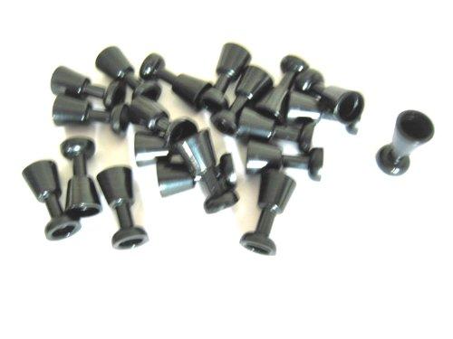 LEGO Castle - 20x Glas - Ritter-Kelch - Gläser - Becher in schwarz