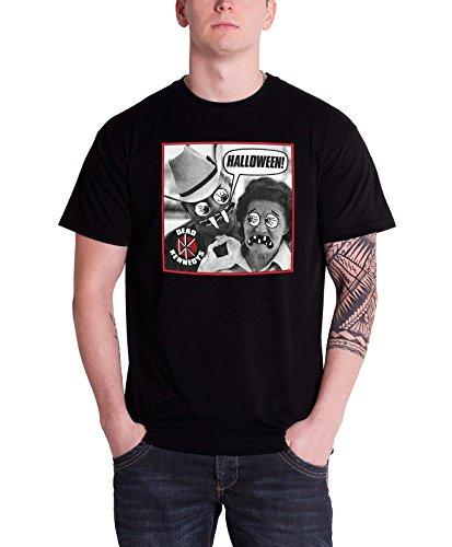 een Official Herren Nue schwarz T Shirt (Dead Kennedys-halloween)