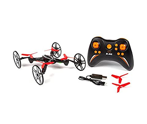 3 In 1 Rc Drone Quadcopter 4 Channel Stunt 2.4ghz