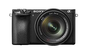 Sony Alpha 6500 APS-C E-Mount Systemkamera (24,2 Megapixel, 7,5 cm (3 Zoll) Touch Display, 5 Achsen-Bildstabilisierung, 425 Phasen AF-Punkte, XGA OLED Sucher, 4K) inkl SEL-1670Z Zeiss Objektiv schwarz