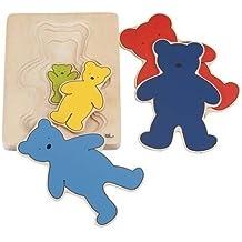 Einlegepuzzle Drei Bären-Goki HP003