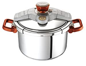 Tefal By Jamie Oliver Clipso P4110769 Pressure Cooker - 6 Litre
