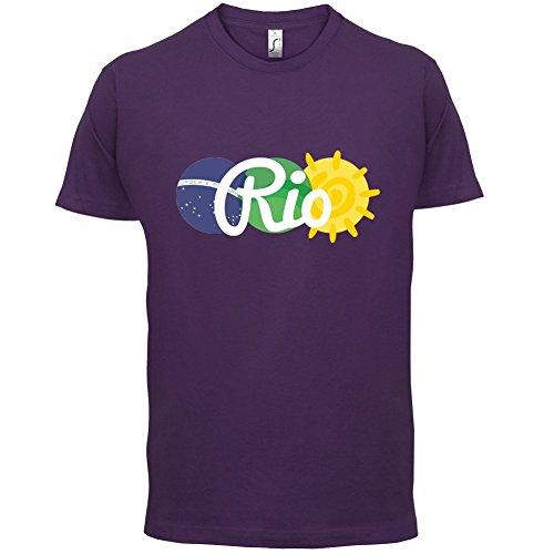 Rio de Janeiro 2016 - Herren T-Shirt - 13 Farben Lila