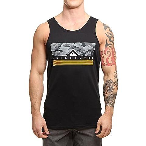 Quiksilver Men Overwear / Tank Tops Jungle Box black