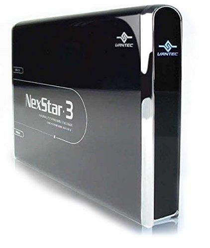 Vantec NexStar 3 NST-260U2-BK 2.5-Inch IDE to USB 2.0 External Hard Drive Enclosure Onyx Black  available at amazon for Rs.4140