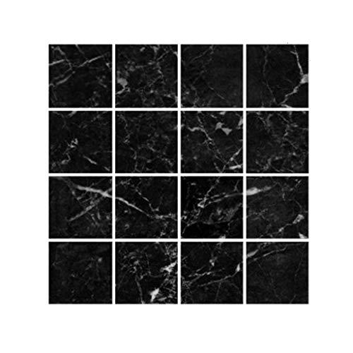 Grilsrylyna Kreativ Aufkleber,MSC005 3D Mosaik kreative Fliesenaufkleber wasserdichte Wandaufkleber Bodenaufkleber,Aufkleber für Dekoration + Full Light Shading,Aufkleber Schön DASS du da Bist -