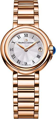 Maurice Lacroix Fiaba Round Montre Bracelet pour femmes très élégant