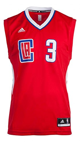 adidas Herren LA Trikot, NBA Los Angeles Clippers, L