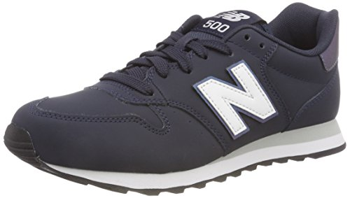 New Balance 500, Scarpe Sportive Donna, Blu (Outerspace/Irredescent/White Isb), 38 EU