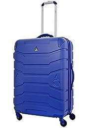 Aerolite Auto Pesar ABS Shell duro seguir adelante Mano maleta de equipaje de cabina con 4 ruedas y digital incorporado equipaje Scales