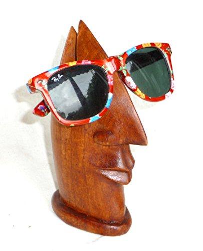 Brillenhalter Brillenablage Nase Soar Holz Handarbeit passend für alle Brillengestelle