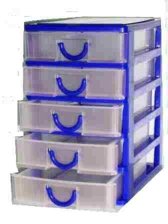 Cassettiere In Plastica Per Minuterie.Cassettiera In Plastica Porta Minuteria Con 5 Cassetti Per La Casa