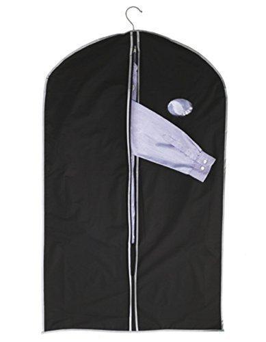 ShirtInStyle plegable Bolso de vestidos, klein y ahorro de espacio - Negro, 60 cm x 100 cm