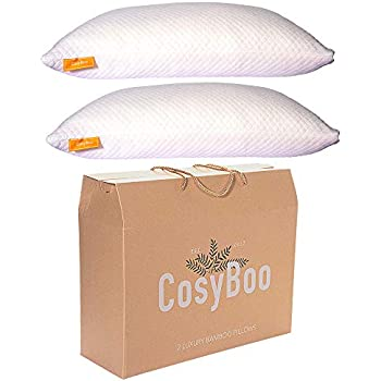 Panda Memory Foam Bamboo Pillow Amazon Co Uk Kitchen Amp Home