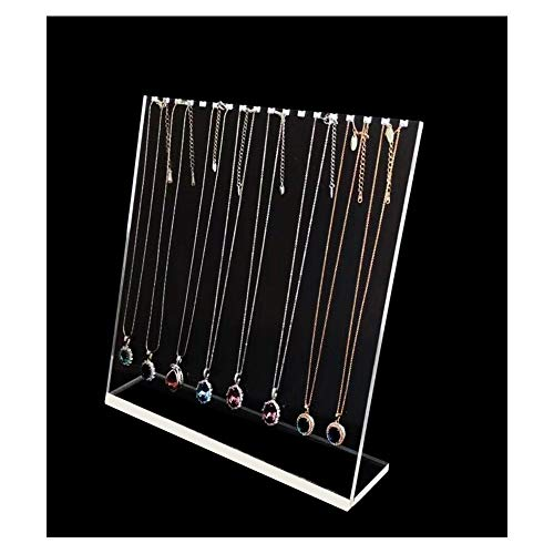 Clear Fine Acrylic Jewellery Display Stands