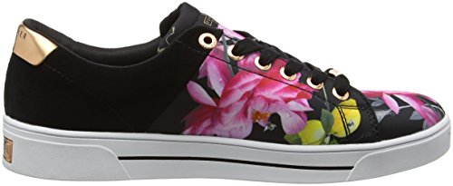Baker agrumi Femme Multicolore Jockei Sneakers Ted Fioritura Bassi Multicolore OndSCTw