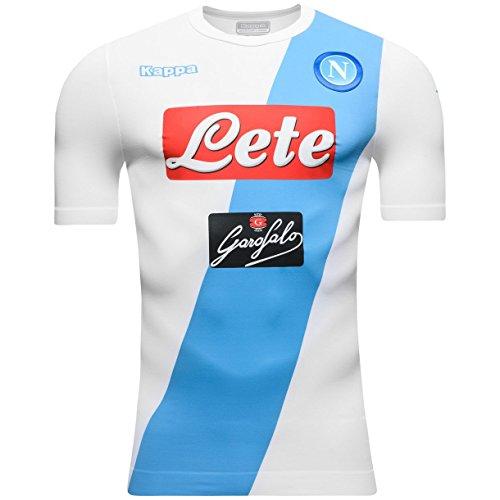 2016-2017 Napoli Kappa Authentic Away Shirt (Napoli Soccer Shirt)