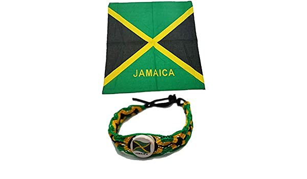 Nouveau *** Rasta Jamaican Bracelet Yardie One Love Bob Marley Jamaïque drapeau IRIE