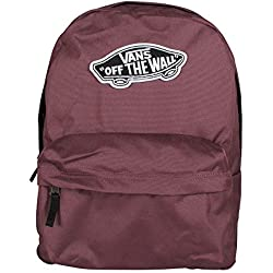 Vans Realm Backpack Mochila Tipo Casual, 42 cm, 22 Liters, Rojo (Catawba Grape)