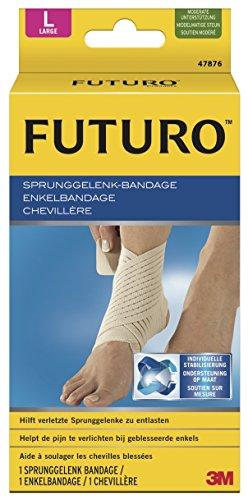 futuro bandagen FUTURO Sprunggelenk-Bandage in Größe S - L, Sport Bandage für Fuß, Knöchel, Sprunggelenk