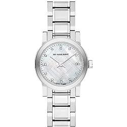 BURBERRY BU9224 - Reloj para mujeres, correa de acero inoxidable