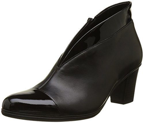 Gabor Shoes Damen Basic Stiefel, Schwarz (97 Schwarz), 41 EU (Leder-booties Patent)