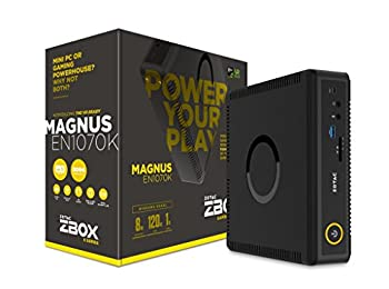 ZOTAC MAGNUS EN1070K Gaming Mini PC Intel Kaby Lake Core i5 NVIDIA GeForce GTX 1070 VR Ready Windows 10 (ZBOX-EN1070K-U-W2B