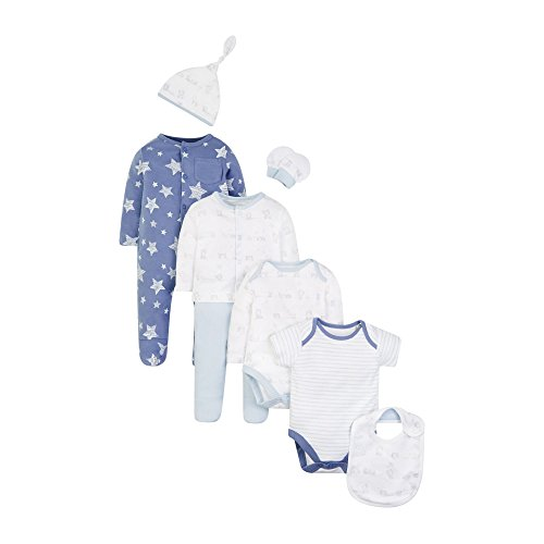 Mothercare Baby-Jungen Bekleidungsset My First, Blue (Pale Blue), 68