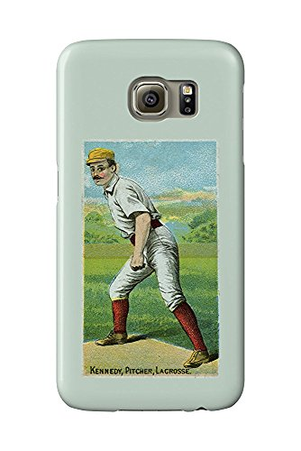La Crosse Northwestern League - Kennedy - Baseball Card (Galaxy S6 Cell Phone Case, Slim Barely There) -