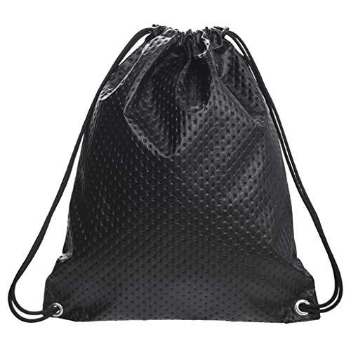 KEYIA Unisex Pailletten Leder Rucksack für Mädchen, kleine Reise Bling Pocket Rucksack