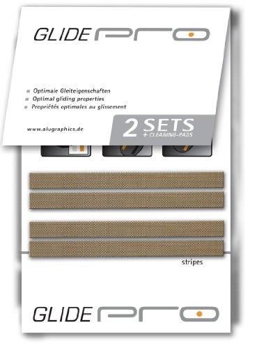 Preisvergleich Produktbild glidePRO stripes Mausgleiter für Apple Magic Mouse by alugraphics¨