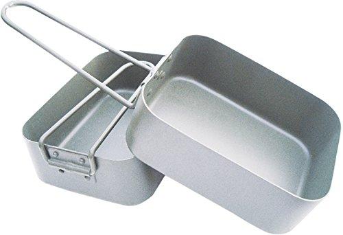 Bushcraft BCB Aluminium Mess Tin - Silver 1
