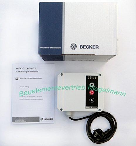 Funksteuerung Beck-O-Tronic 6 Centronic ohne Fernbedienung