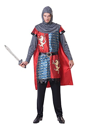 Bristol Novelty AC176 Costume da Cavaliere Medievale
