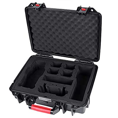 Smatree Waterproof Hard Case for DJI Mavic 2 Pro or DJI Mavic 2 Zoom-Large Capacity (Drone and Accessories Not Included)