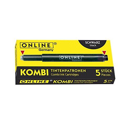 Online 17145/12 - Kombi Tintenpatronen, schwarz