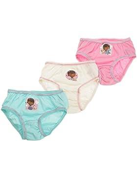 Disney Doc McStuffins Mädchen Unterhosen Baumwolle (3 Stück)
