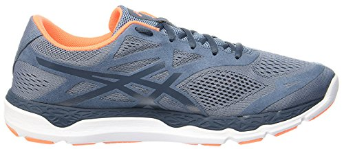 Asics 33-FA Blue Mirage Dark Slate Hot Orange Blau/Orange